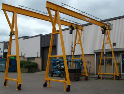 New A-Frame gantry