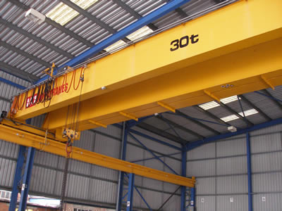 USED KCI KONE CXT crane 10 tonne working load used double ...