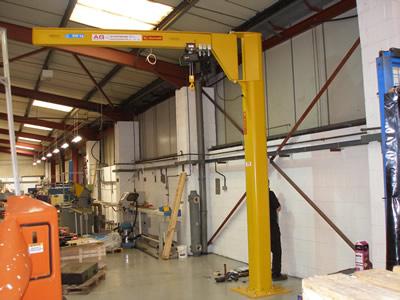 jib crane testing