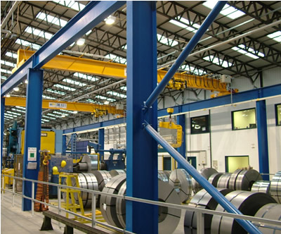 Columns For Sale >> FREE STANDING GANTRY CRANE steelwork portal columns with ...
