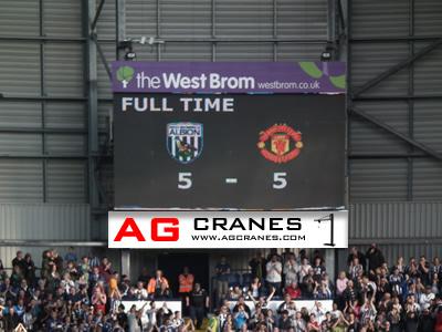 West Bromwich Albion scoreboard