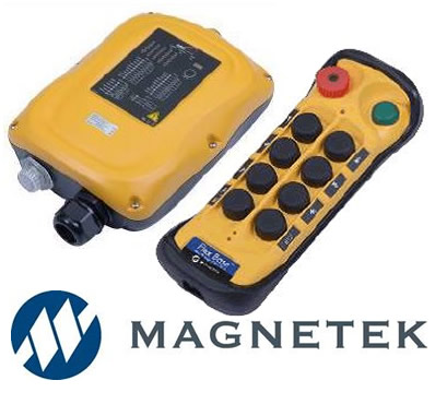MAGNETEK flex base and flex 8ex 6ex radio remote control for cranes on