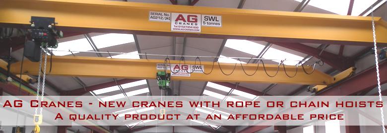 new overhead cranes